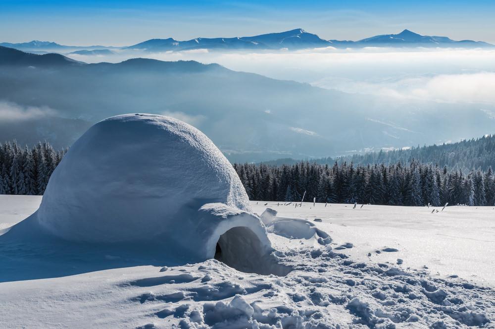 іглу в горах