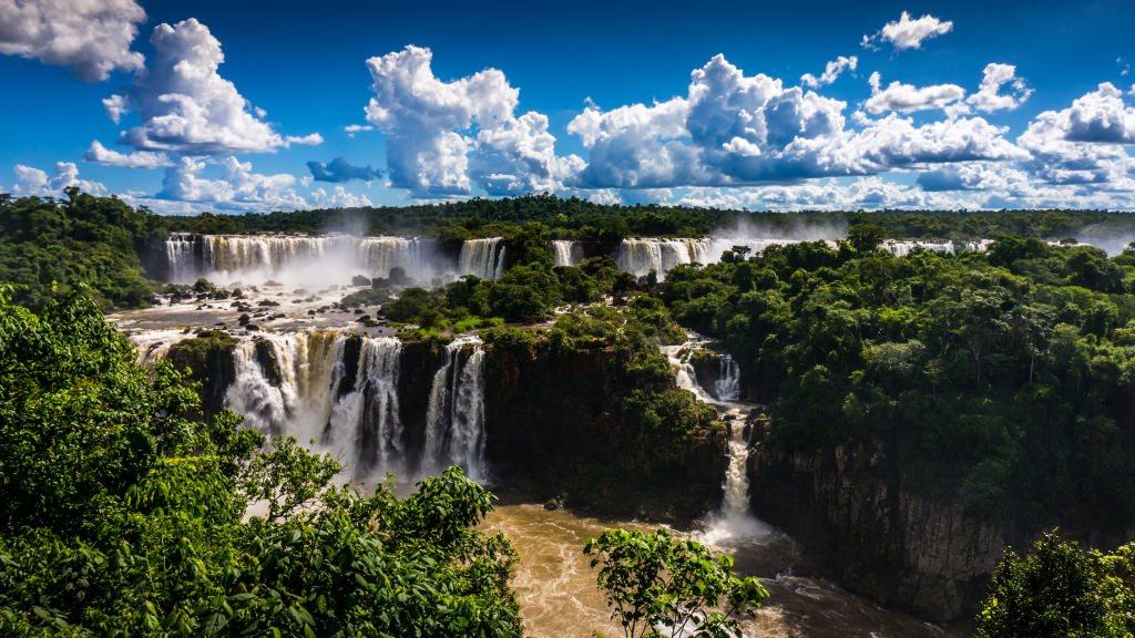 3. Водопады Игуасу, Аргентина-Бразилия
