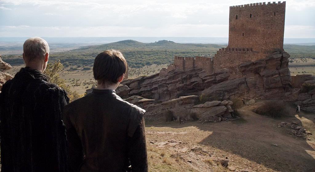Замок Зафра, Гвадалахара, Испания