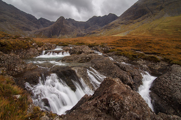 Бассейны Феи, Остров Скай, Шотландия
