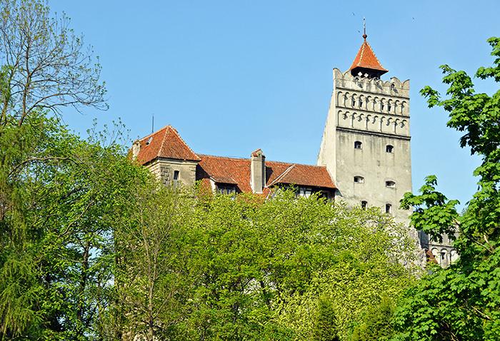 Замок Дракулы, Румыния