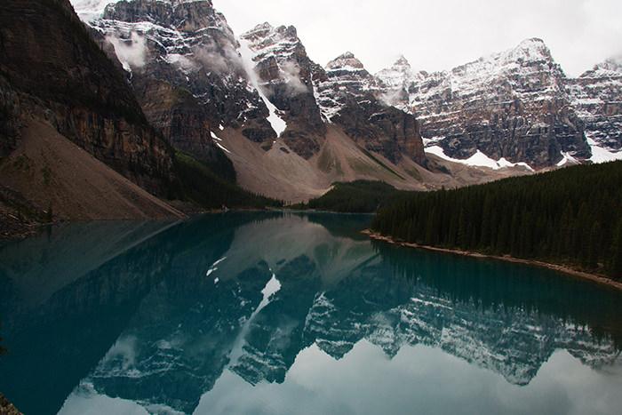 Долина Десяти Пиков, Альберта, Канада