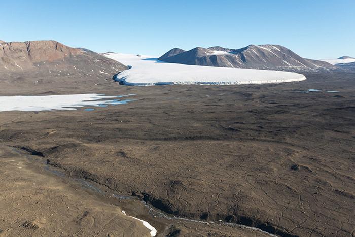 Сухие долины Мак-Мердо, Антарктида