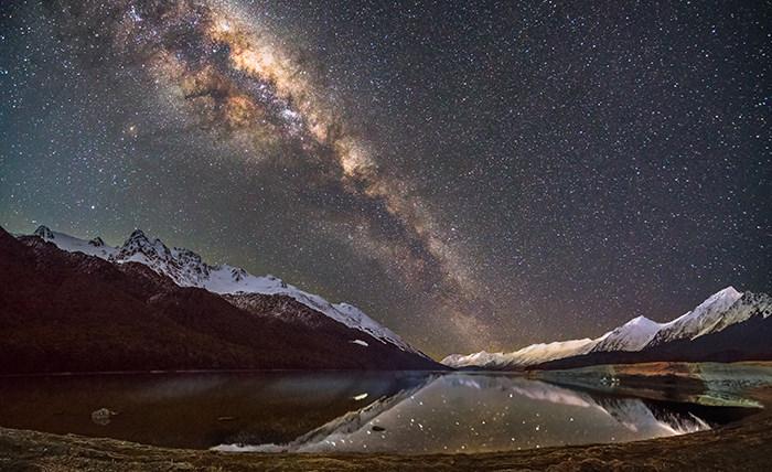 Озеро Мавора, Новая Зеландия