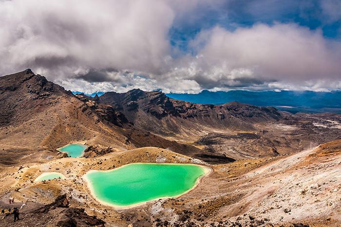 Изумрудное озеро, Новая Зеландия