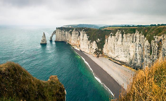 Скалы Этреты, Франция