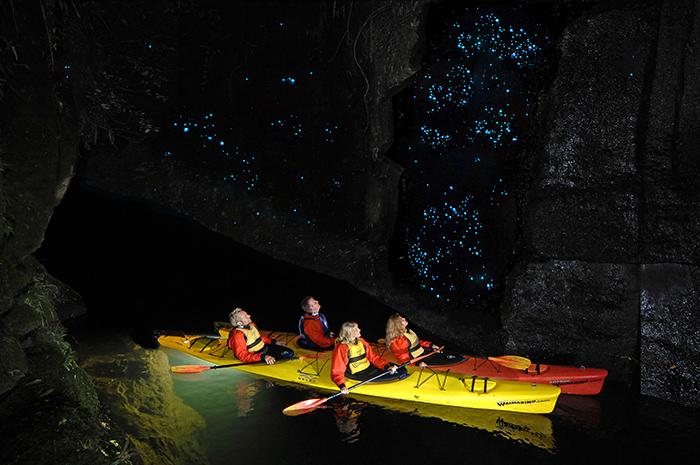 Пещеры Светлячков, Новая Зеландия