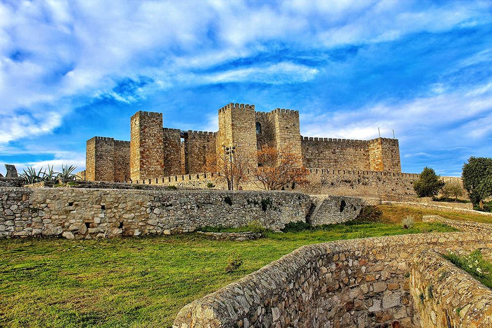 Замок Трухильо, Касерес, Испания
