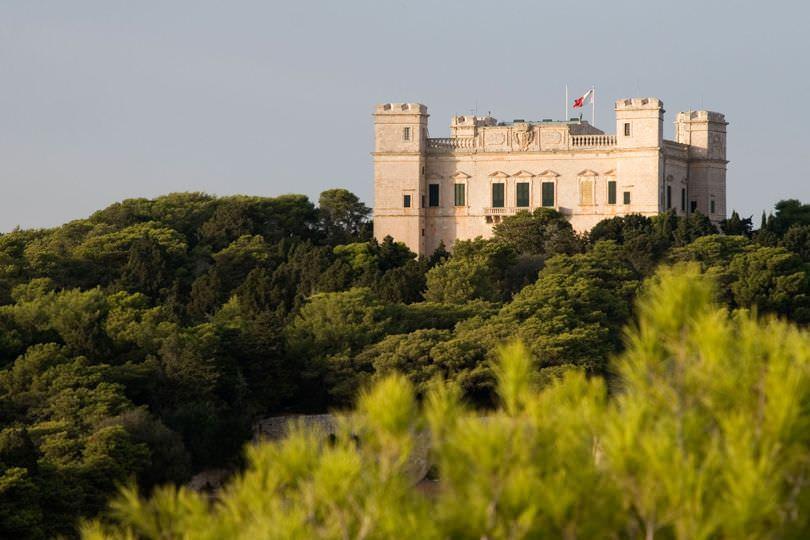Вердальский палац, Мальта