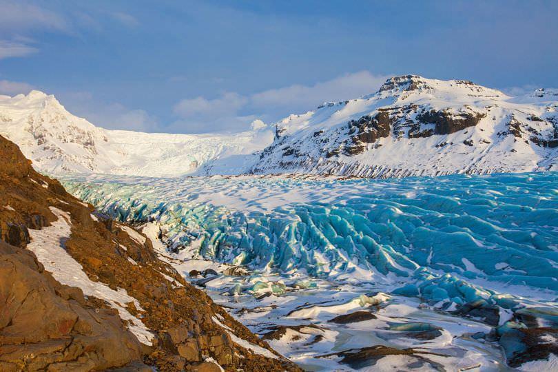 Ледник Свинафелльсьекулл, Исландия