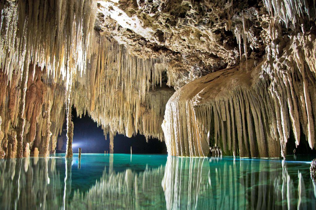 5. Сеноты племени Майя, полуостров Юкатан