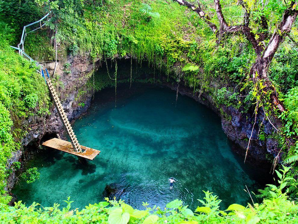 Природный бассейн Тосуа, Самоа