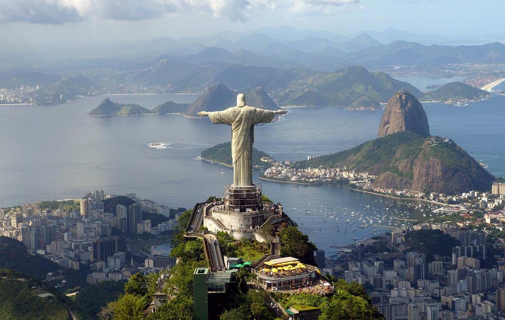 Статуя Христа-Спасителя, Ріо-де-Жанейро, Бразилія
