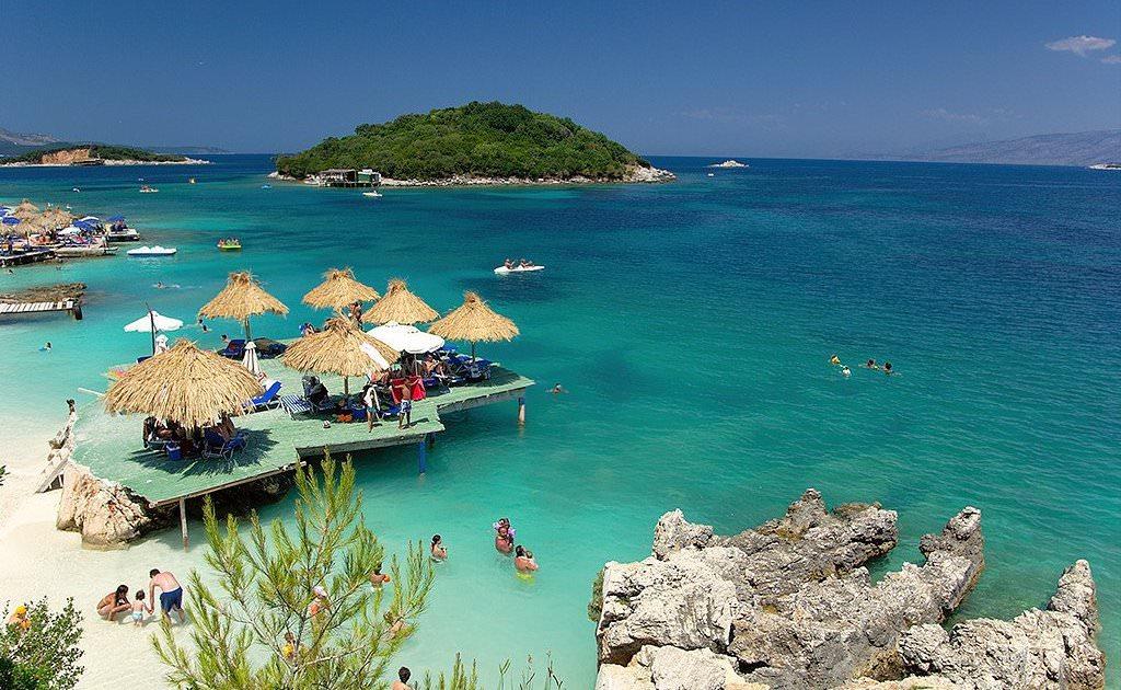 пляж албанія