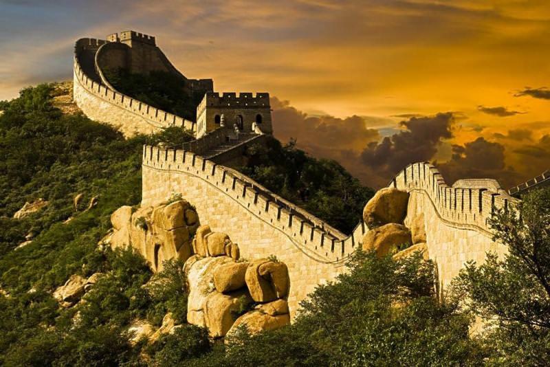 Велика китайська стіна, Китай
